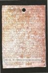 Copper Plate Inscription in Nagari Lipi, ThirthaMutturu