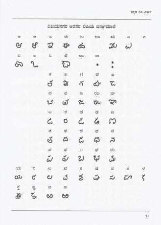 Vijayanagara Script